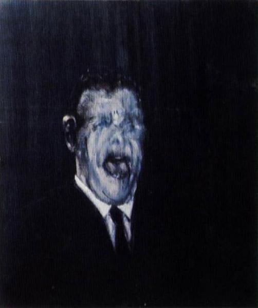 [13.2] Triptych, Three Studies of the Human Head, 1953