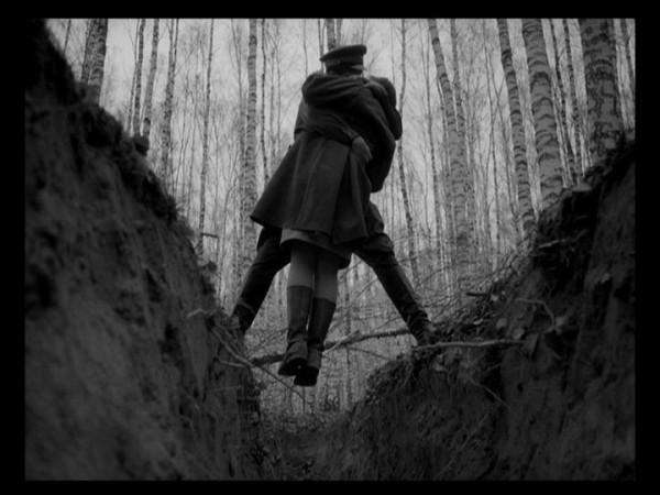 Still from Ivan's Childhood by Andrei Tarkovsky